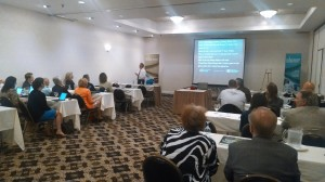 Mark Levy leads the discussion at the MBA/NHAB Management Seminar