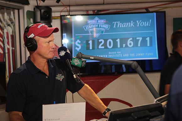 Gerry Callahan WEEI Radiothon
