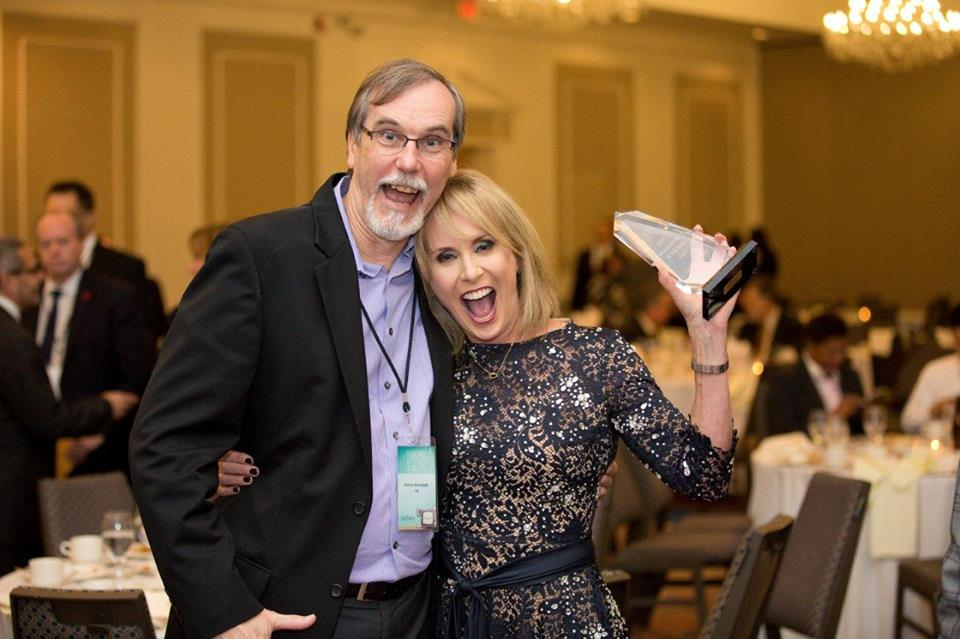 2015 MBA Broadcaster of the Year Candy O'Terry.