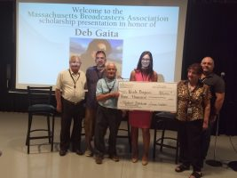 Deb Gaita Scholarship winner Nicole Biagioni (center)